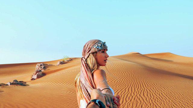 Vượt sa mạc để hướng về Dubai