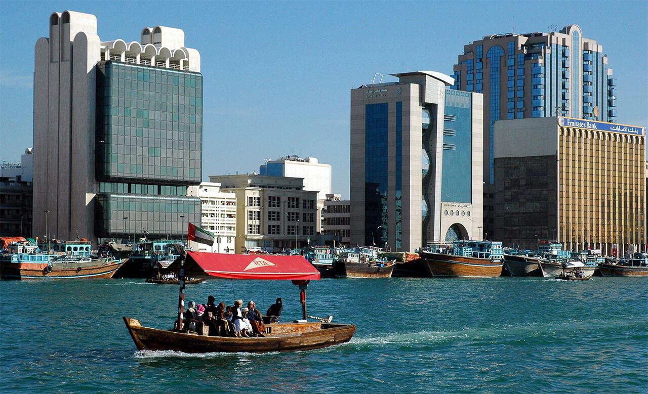Dubai-Taxi water - Tour du lịch Dubai