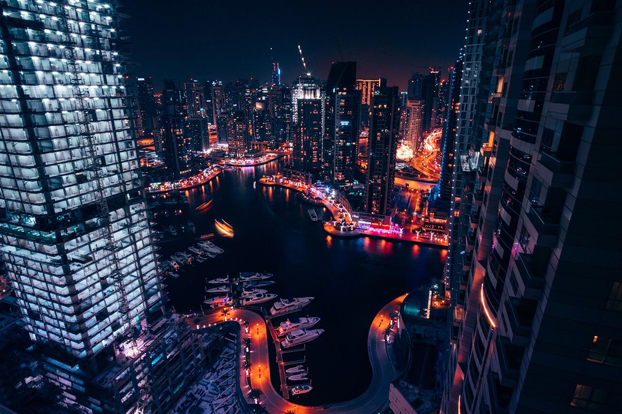 Tour du lịch Dubai-Vịnh MARINA tại Dubai