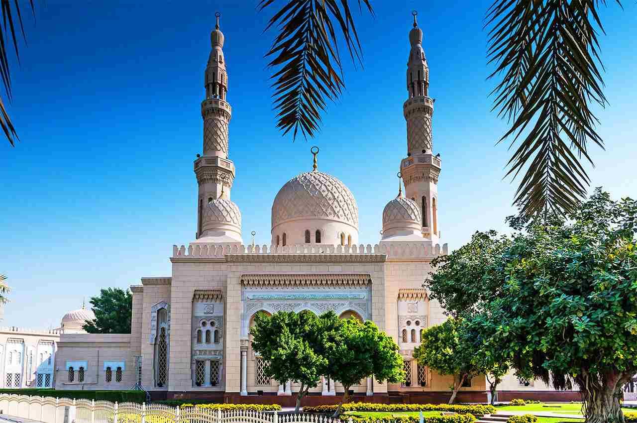 Tour du lịch Dubai-Thánh đường Jumeirah Mosque