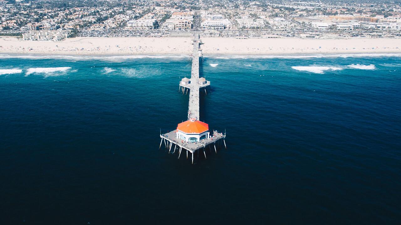 Bờ biển Huntington Beach