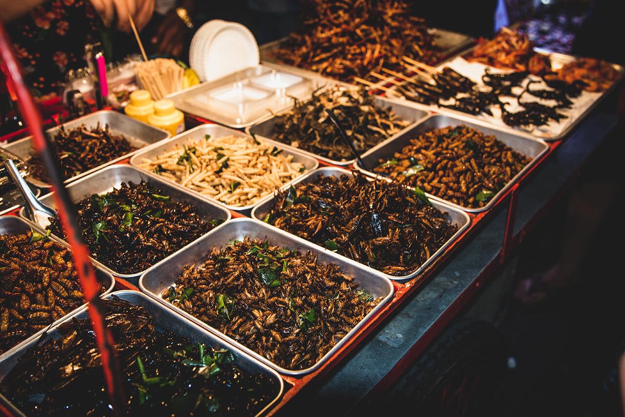 Khao San - ăn ở đâu khi du lịch đến Thái Lan