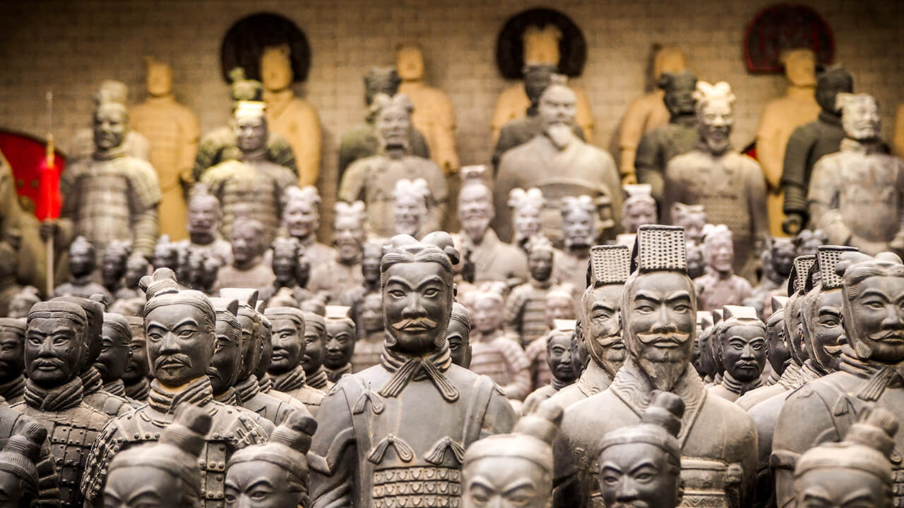 Lăng mộ Tần Thủy Hoàng