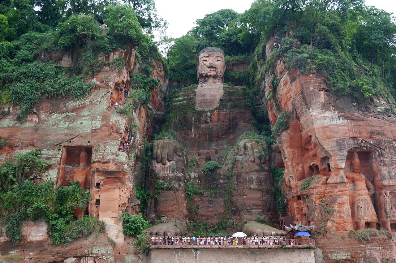 Những Địa Điểm Phải Đến Ở Trung Quốc - Lạc Sơn Đại Phật