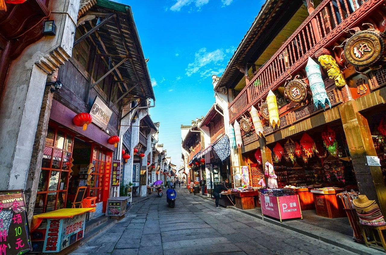 Tour du lịch trung quốc Hoàng Sơn-Đồn Khê