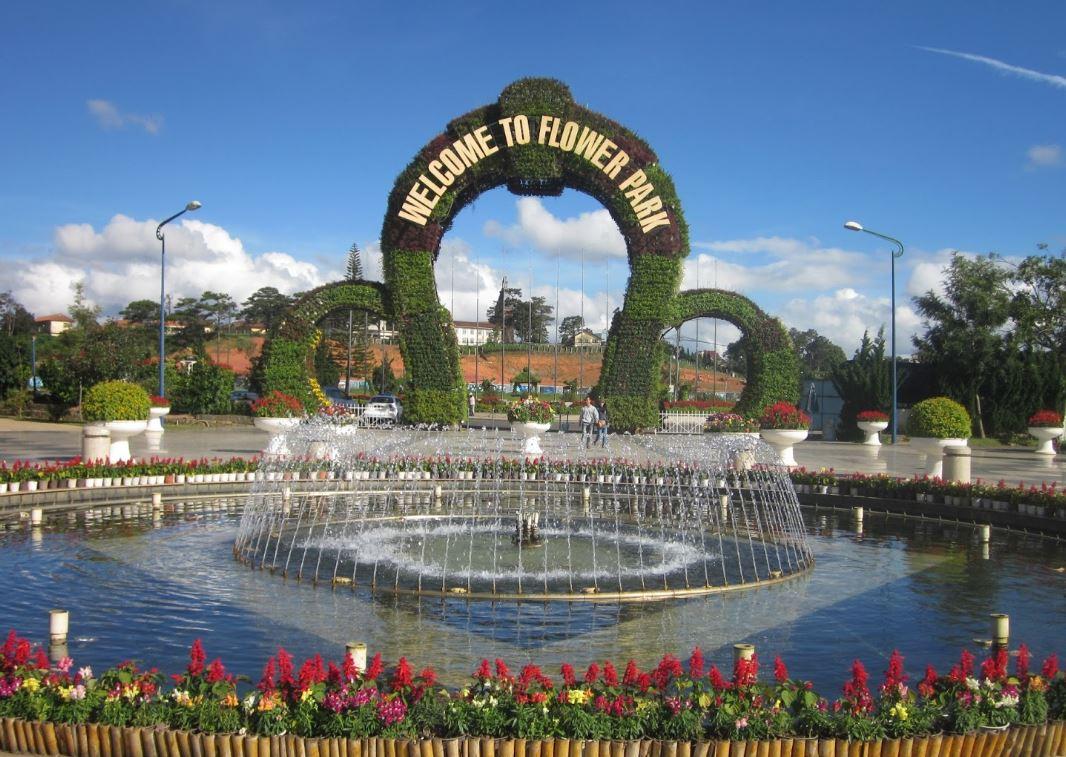 Vườn hoa Đà Lạt - Công ty du lịch Vinatravel