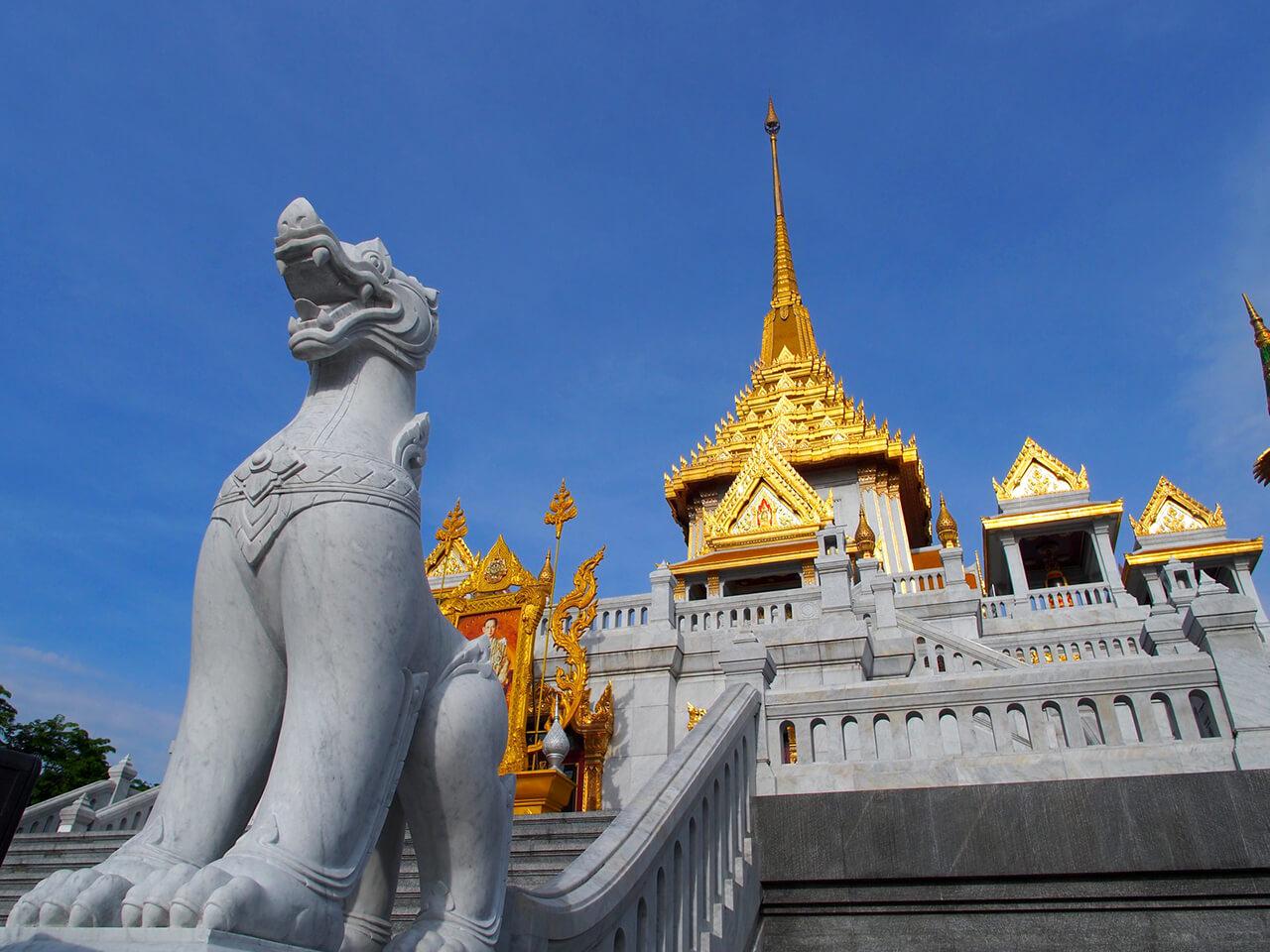 Những điểm tham quan không thể bỏ qua khi du lịch Thái Lan - chùa vàng