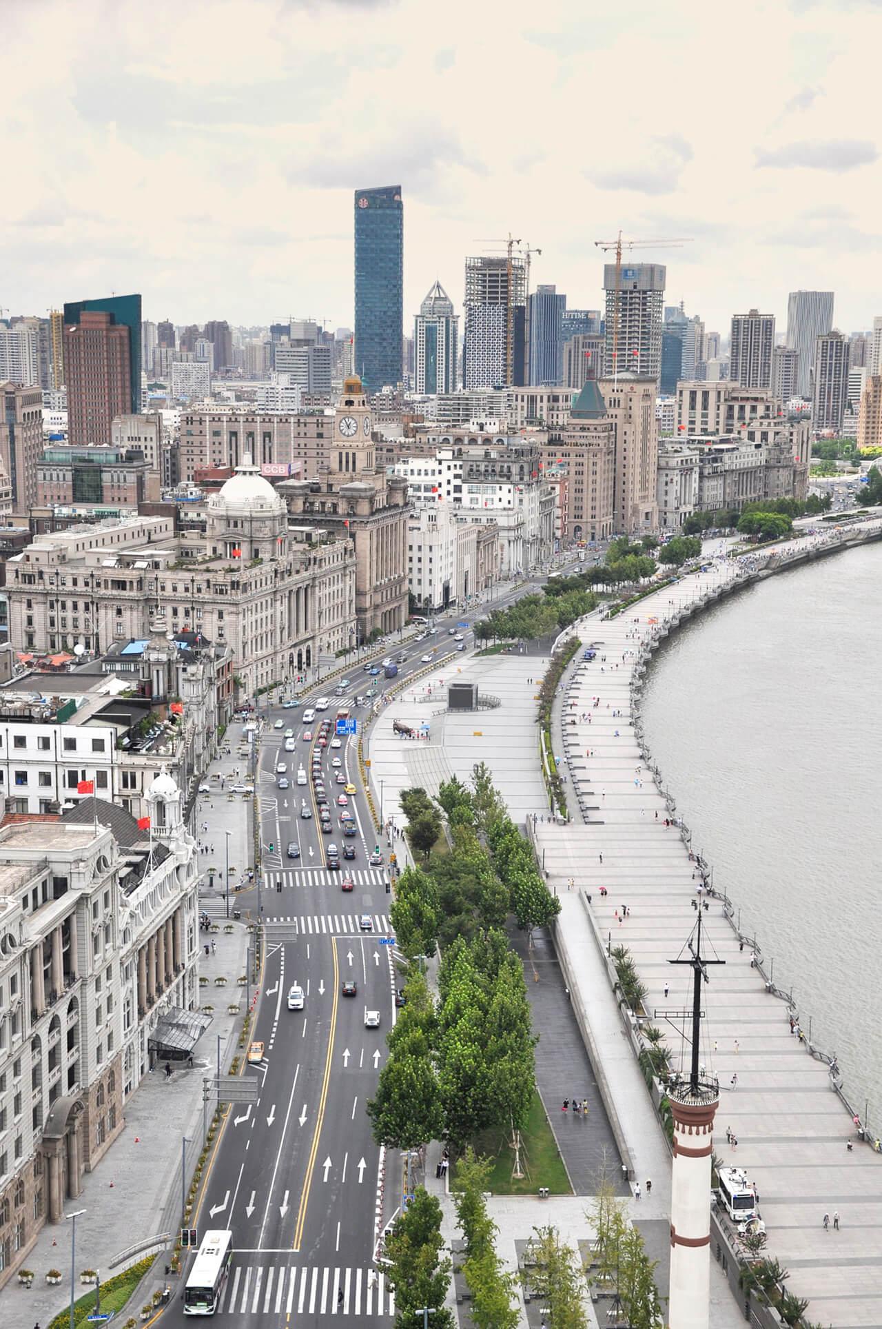 Những Cảnh Đẹp Ở Thượng Hải - đại lộ Nam Kinh
