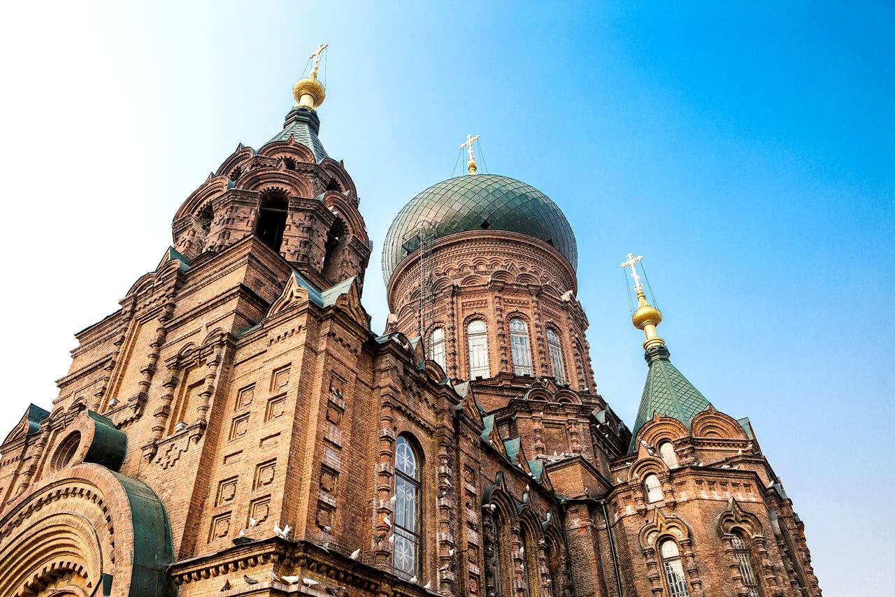 Một trong những nhà thờ đẹp ở Trung Quốc