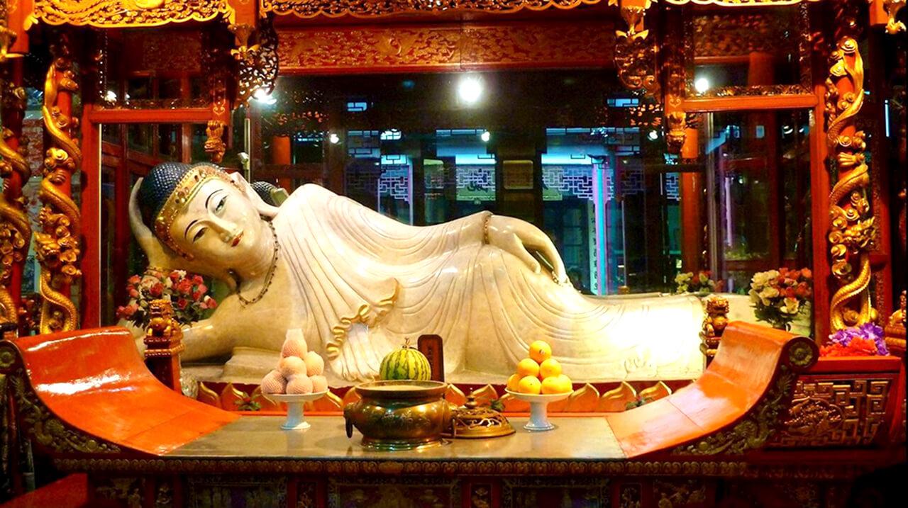 Những Cảnh Ở Thượng Hải - Chùa Phật Ngọc