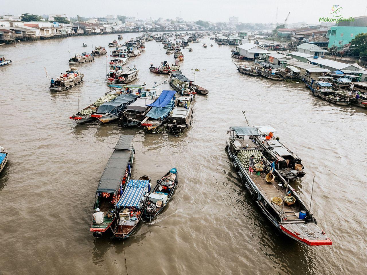 Văn hoá chợ nổi miền Tây - Chợ nổi Cái Răng -Tour Bến Tre - Cần Thơ 2N1D