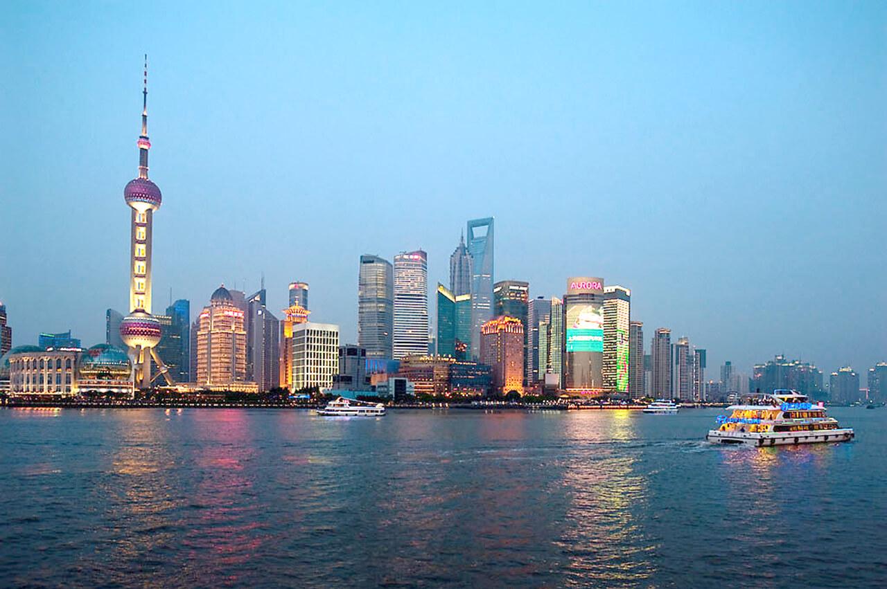 Du thuyền sông Hoàng Phố lung linh về đêm - những cảnh đẹp ở Thượng Hải