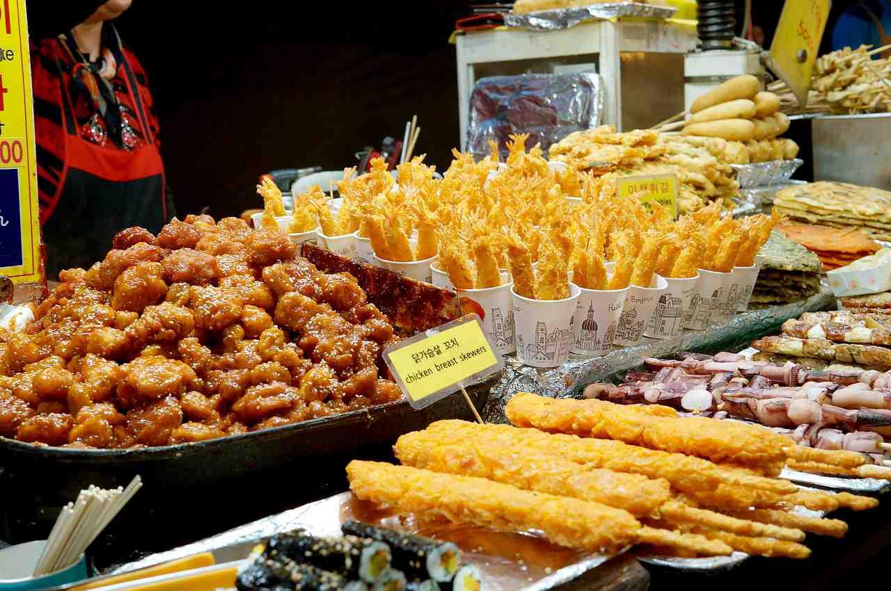 Món ăn đường phố hàn quốc
