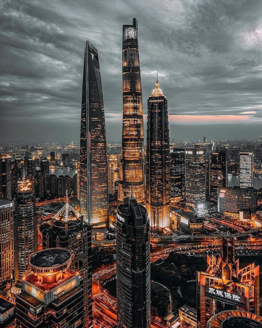 Thượng Hải đẹp như một bức tranh thơ