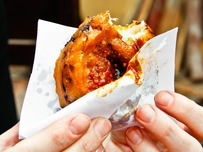 Món bánh xốp giòn thơm ngon khó cưỡng 10 món ăn ngon đậm chất Thượng Hải