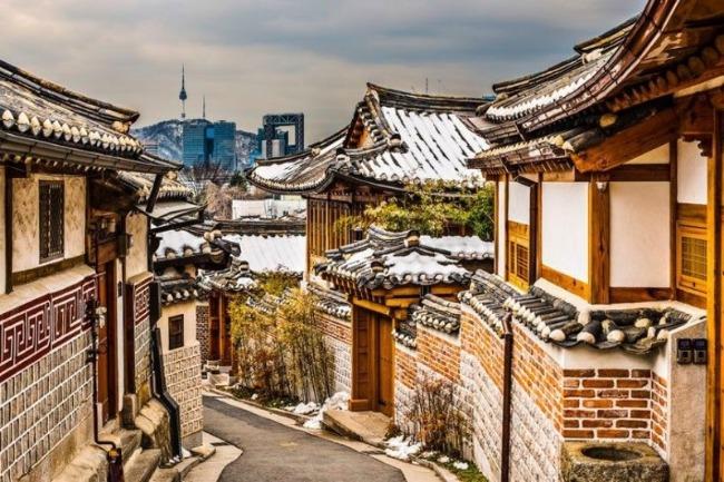 Bunchanok góc nào cũng là một bức tranh thơ ngôi làng cổ Hàn Quốc