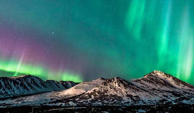 Một góc Anchorage đẹp yên bình trong mùa đông lạnh lẽo thành phố bình yên trên đất Mỹ