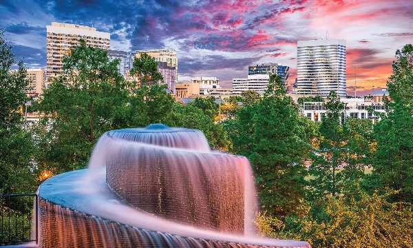 Columbia, thành phố đẹp ở mọi góc
