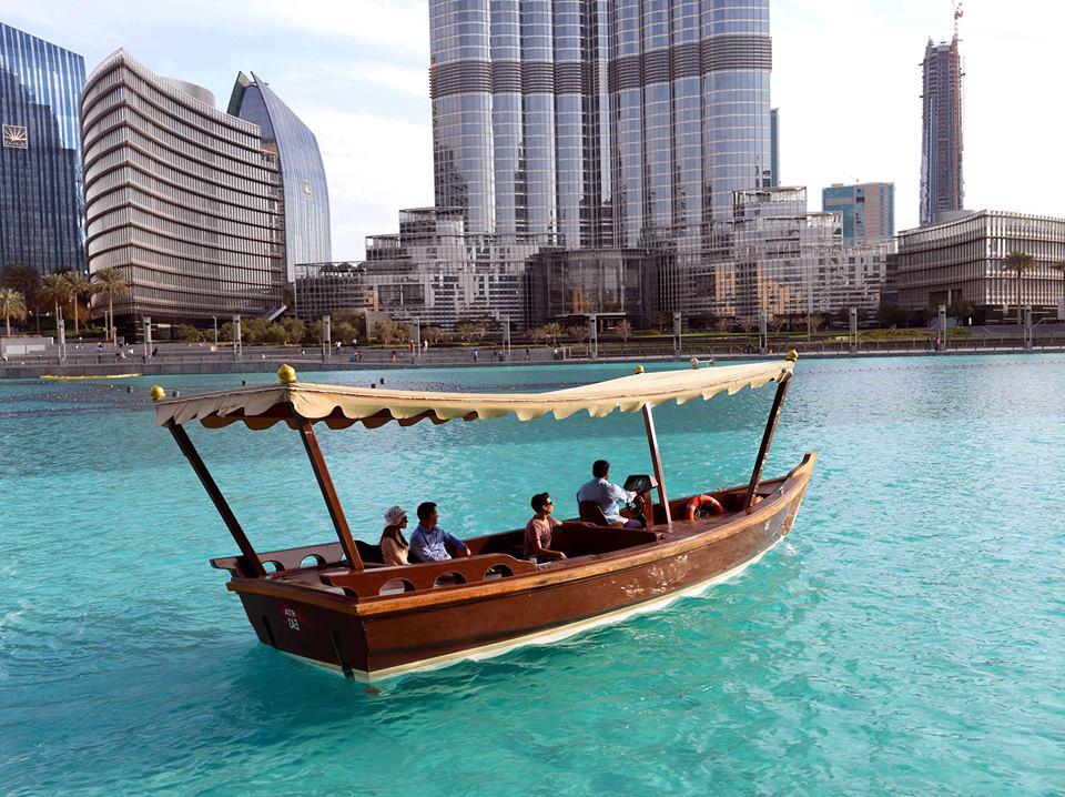 Taxi nước kì lạ ở Dubai kinh nghiệm du lịch Dubai