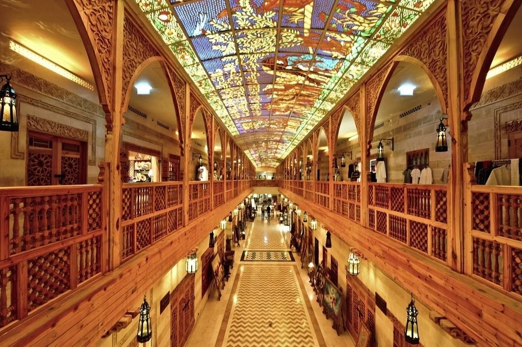Lối kiến trúc xinh đẹp khiến lòng người say mê thiên đường mua sắm ở Dubai