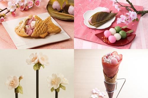 Bánh cá Taiyaki, Sakura Mochi, kẹo Amezaiku hay Crepe Brulee Anh Đào là những món ăn không thể bỏ lỡ khám phá lễ hội mùa xuân trên nước Nhật