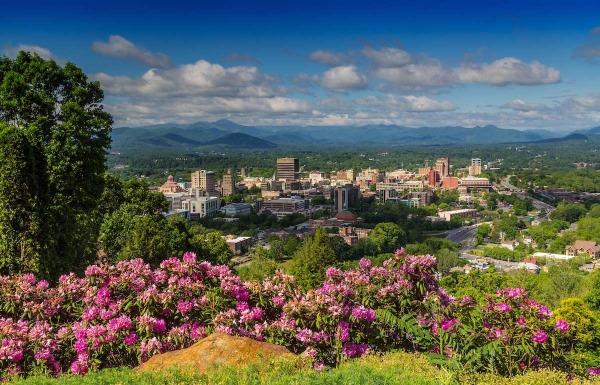 Thành phố lọt thỏm giữa đất trời thiên nhiên thành phố bình yên trên đất Mỹ