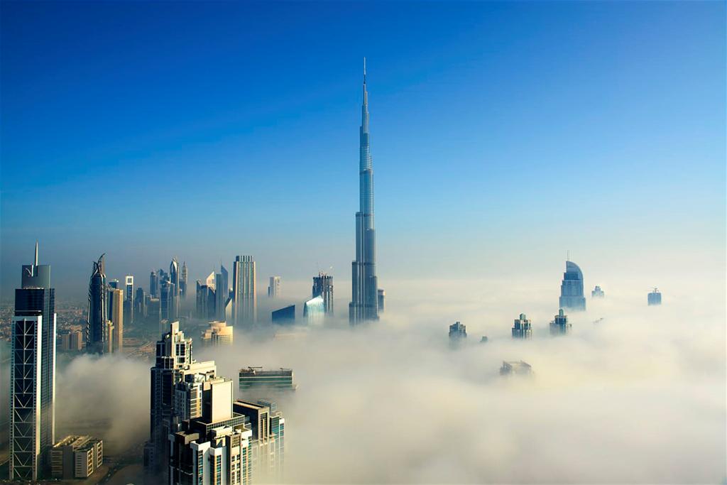 Hiếm nên người ta trân quý những thánh đường Dubai xinh đẹp giữa thánh phố trong mây