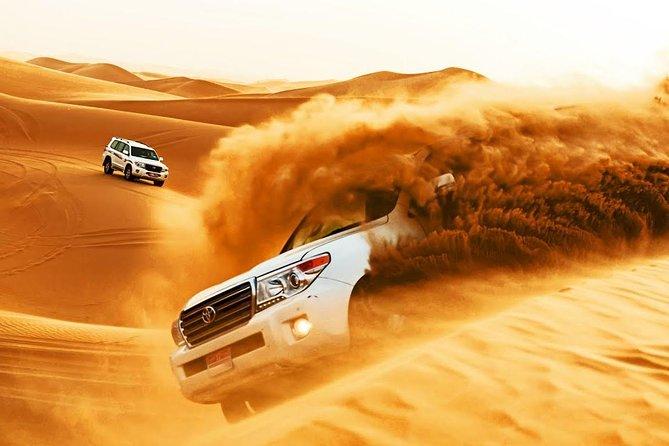 Hành trình vượt sa mạc là một hành trìnhchinh phục đầy mãnh liệt