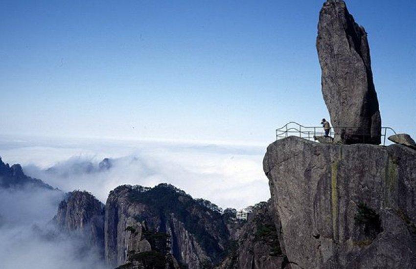 Một người săn mây.... săn mây trên đỉnh Hoàng Sơn