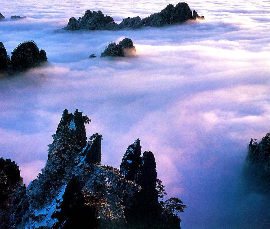 Vương quốc của mây trên đỉnh Hoàng Sơn