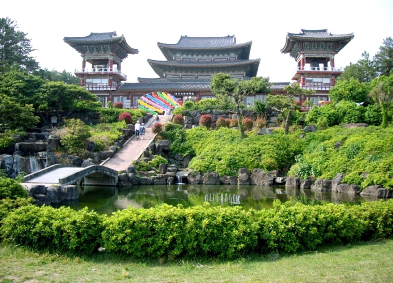 Lưu ý khi vào chùa ở Hàn Quốc