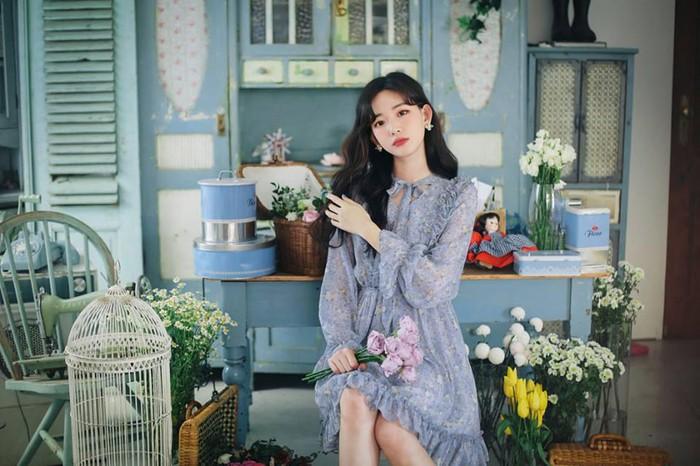 Những chiếc váy hoa nhí đang làm mưa làm gió đây rồi trang phục du lịch Hàn Quốc