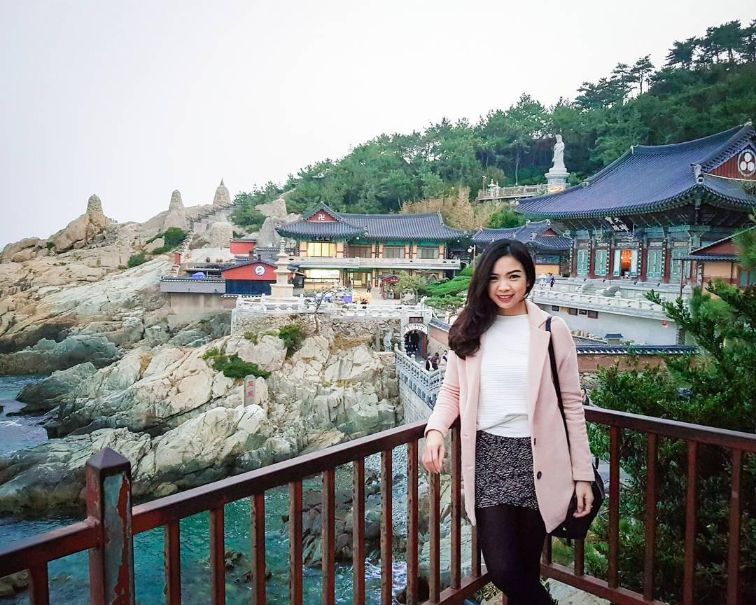 Khách hàng đi tour du lịch Hàn Quốc tại VinaTravel