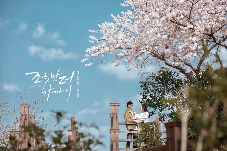 Đất trời Hàn Quốc mùa xuân. Cr: Ly Change