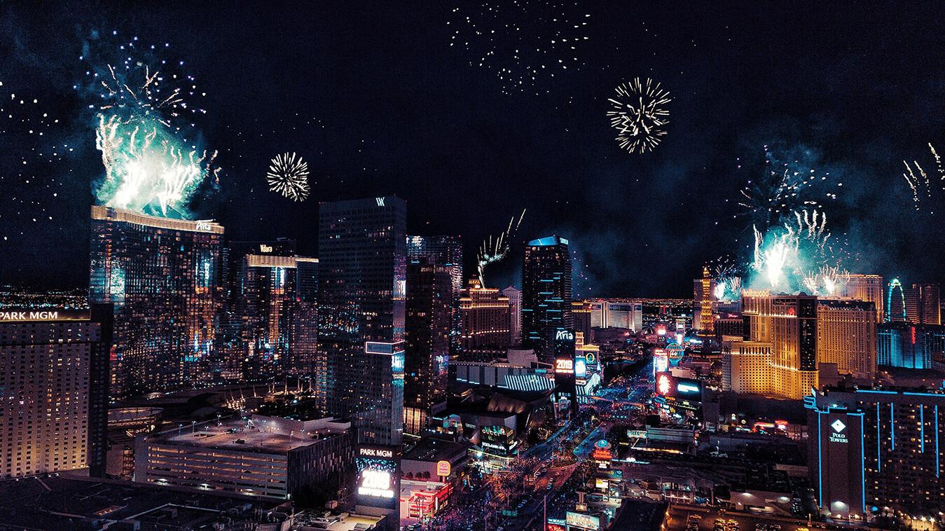 Las Vegas về đêm - tour du lịch Mỹ