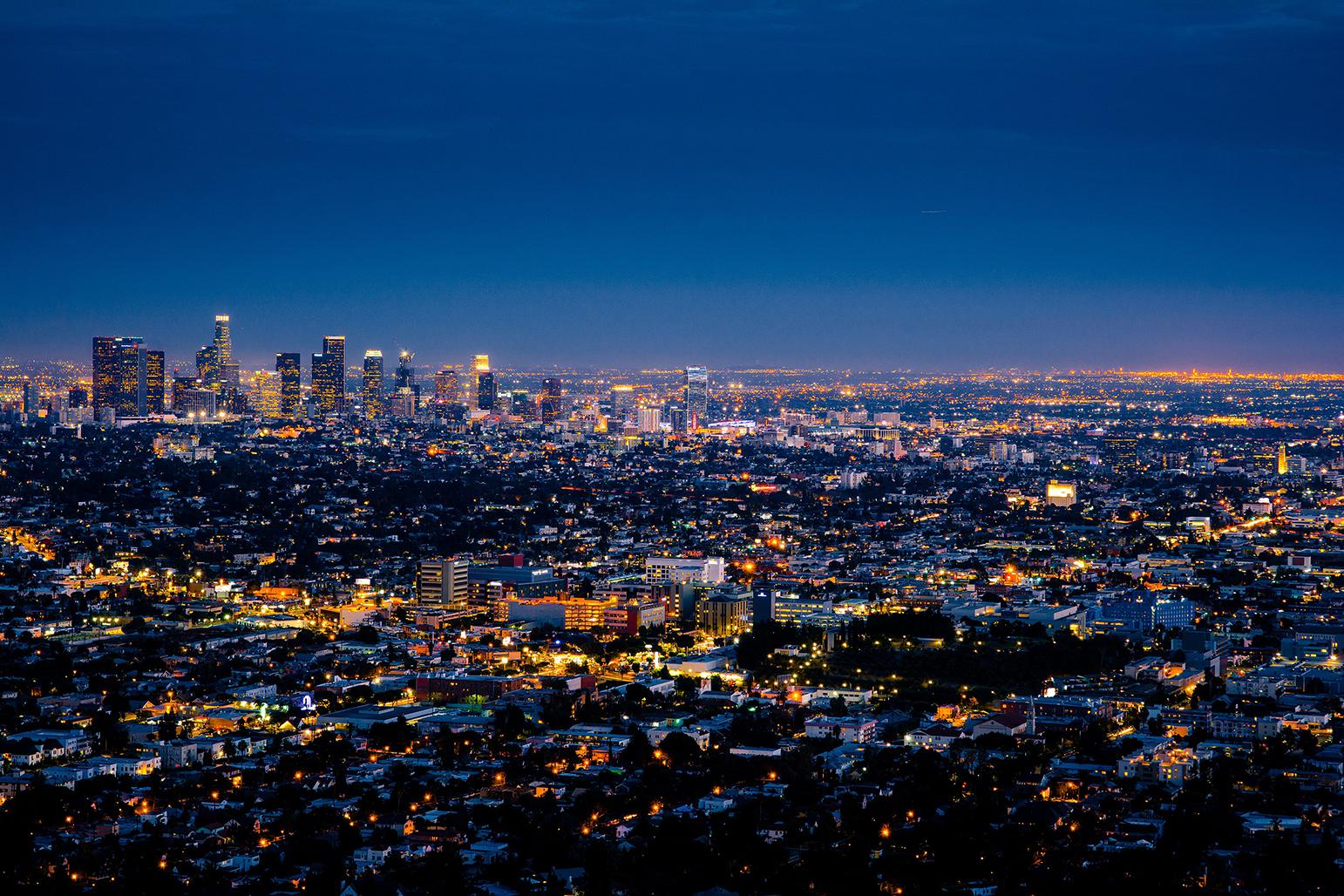 Cảnh đẹp về đêm ở Los Angeles