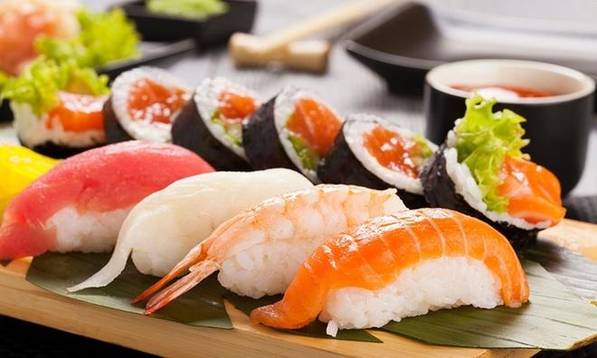 Sushi ngon miệng, đẹp mắt cũng không hề kém cạnh