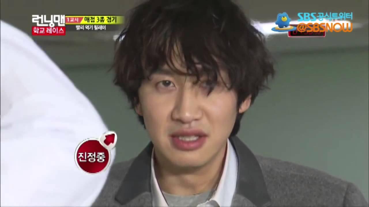 Ngay cả Lee Kwang Soo còn điêu đứng vì trò ăn thức ăn nhanh mà nhỉ