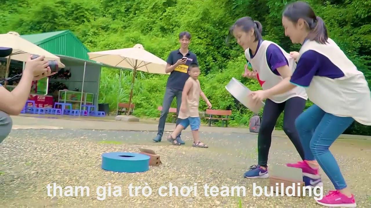 Tổ chức team building kết hợp công nghệ